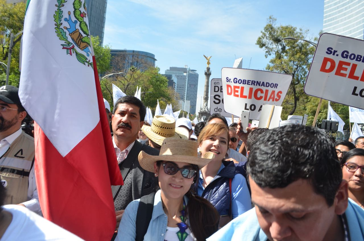 La lucha contra la corrupción emprendida por Javier Corral, es un ejemplo a seguir para las nuevas alcaldías en la Ciudad de México: Gaby Salido