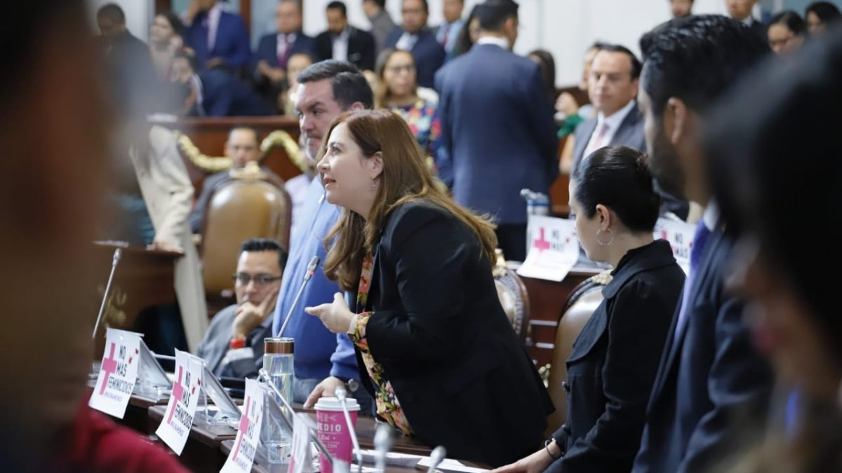 La Dip. Gabriela Salido, exhorta al Gobierno de la CDMX a tomar en serio el problema de la seguridad en las escuelas y la violencia contra las mujeres