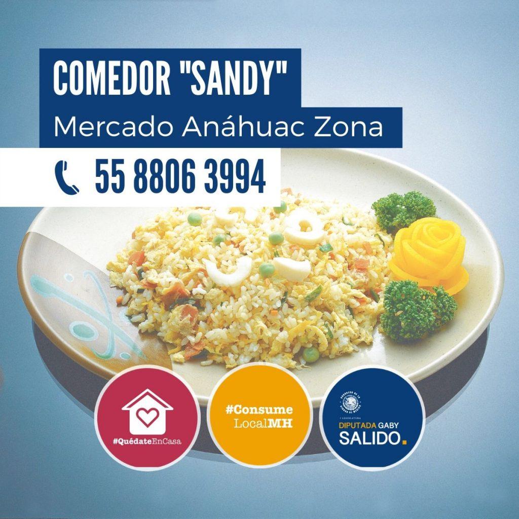 """Comedor """"Sandy"""""""