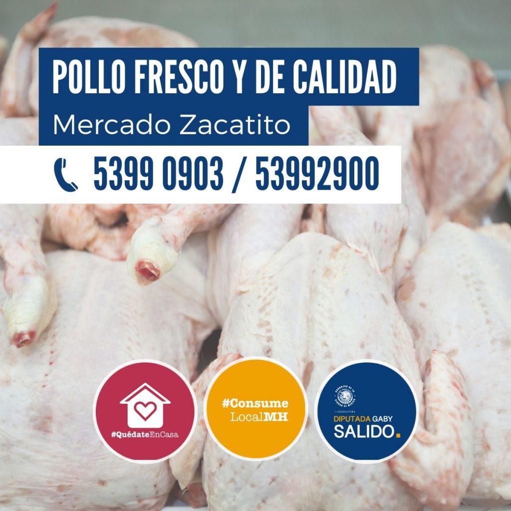 Pollo fresco y de calidad