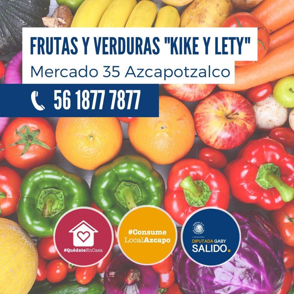 """Frutas y verduras """"Kike y Lety"""""""