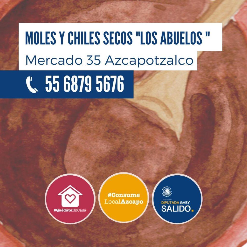 """Moles y chiles secos """"Los Abuelos"""""""