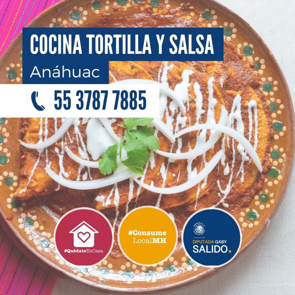 Cocina Tortilla y Salsa