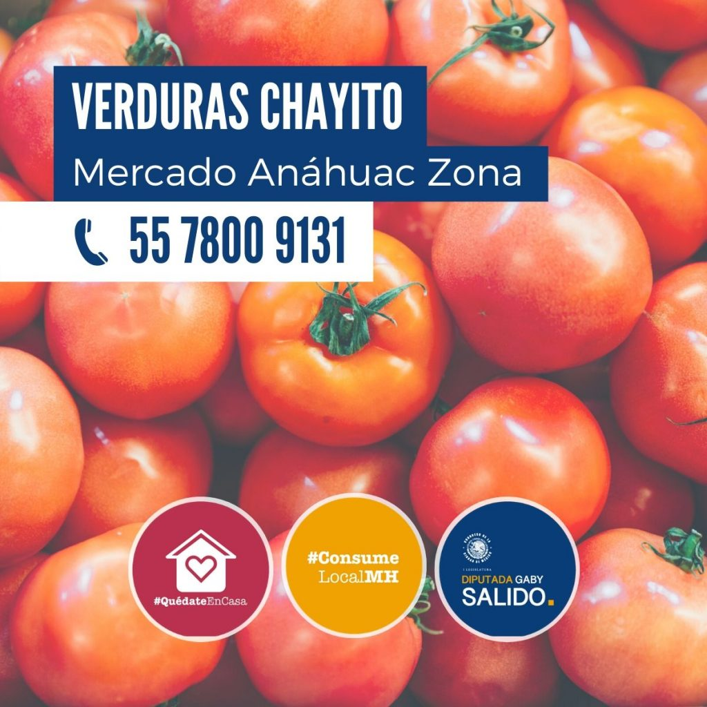 "Verduras ""Chayito"""