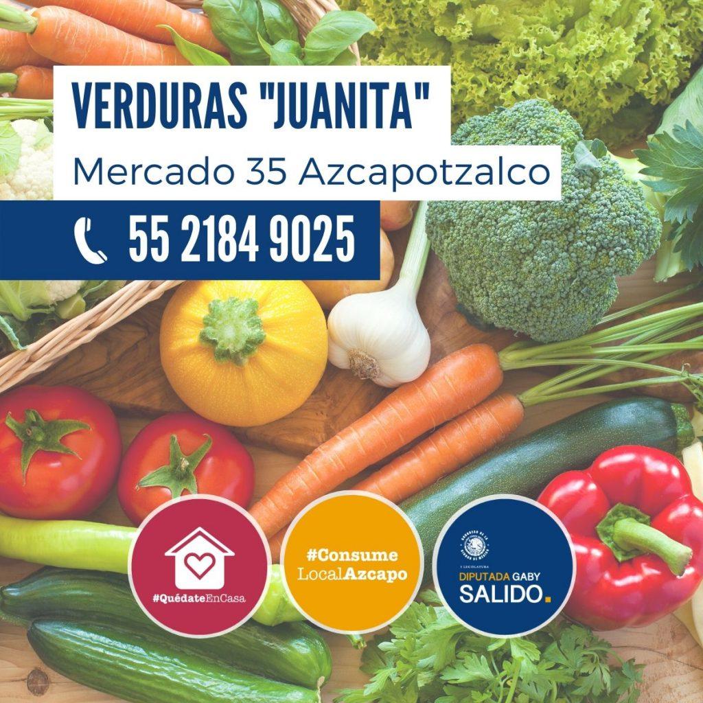 "Verduras ""Juanita"""