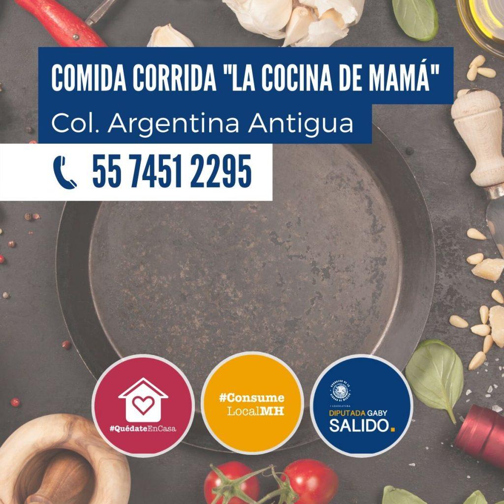 """Comida corrida """"La cocina de mamá"""""""