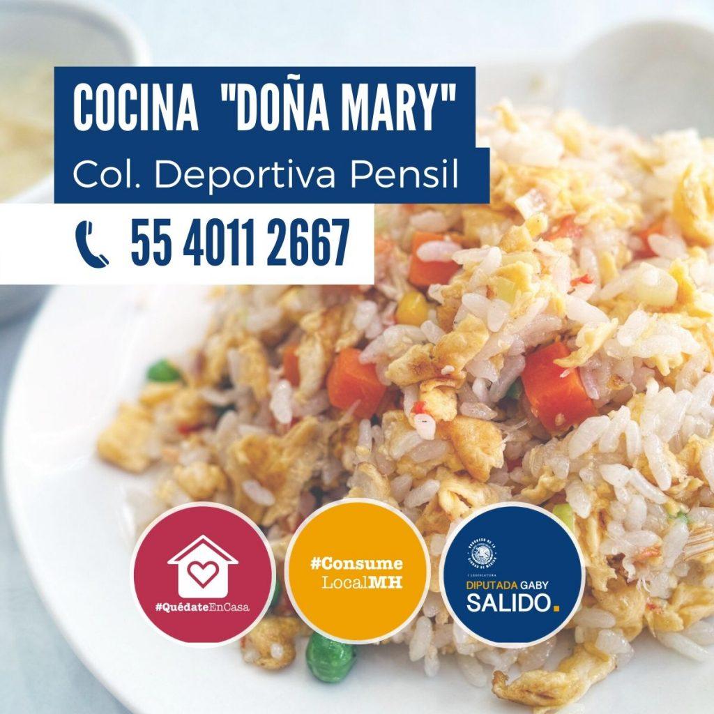 """Cocina """"Doña Mary"""""""