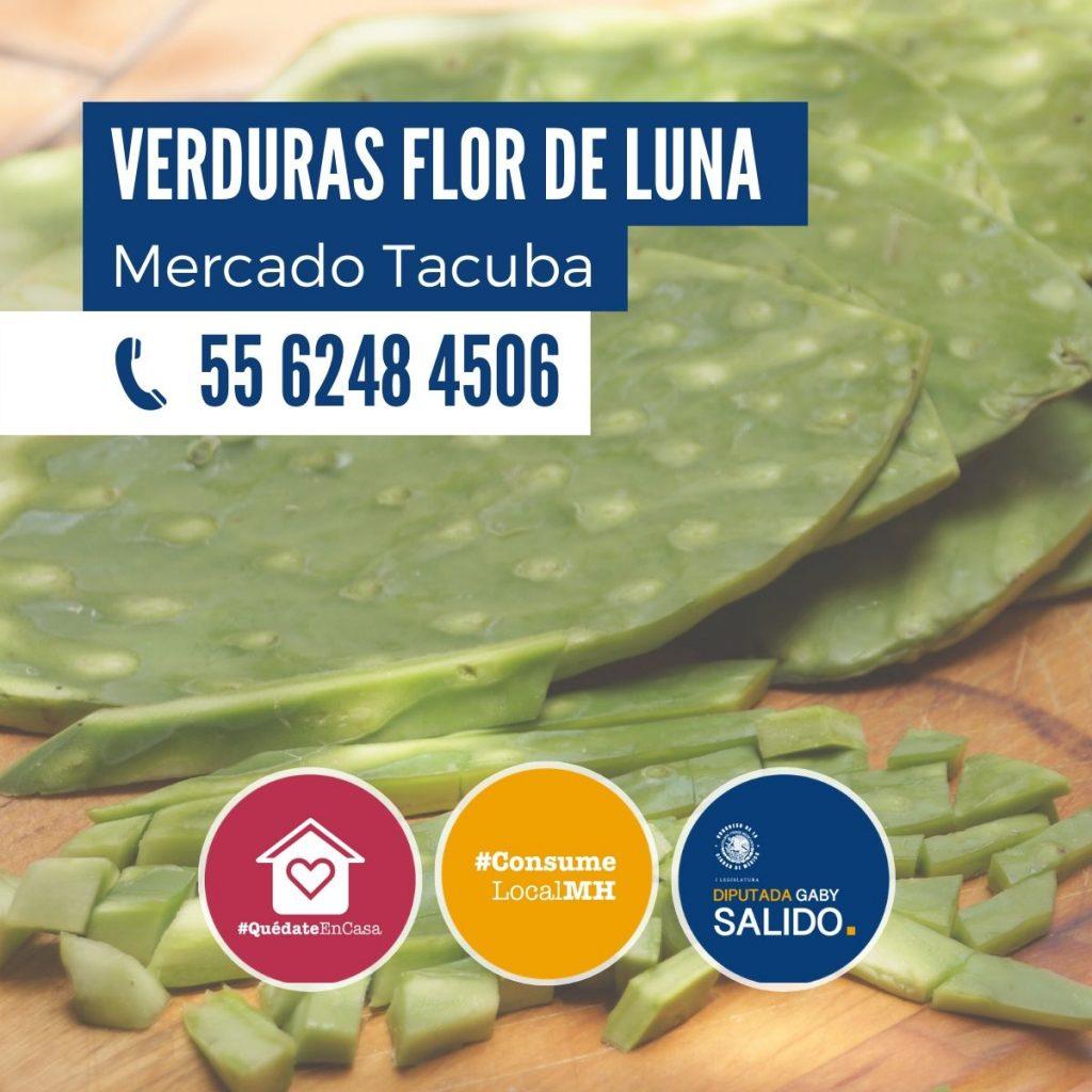 """Verduras """"Flor de Luna"""""""