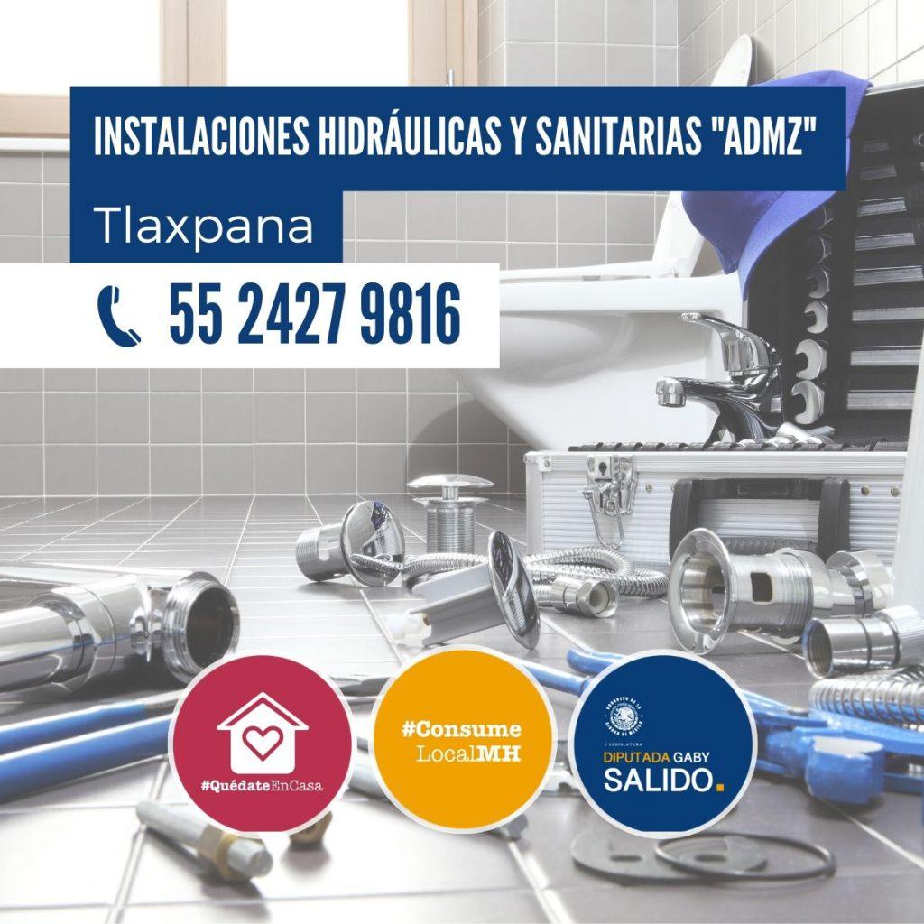 """Instalaciones hidráulicas y sanitarias """"ADMZ"""""""