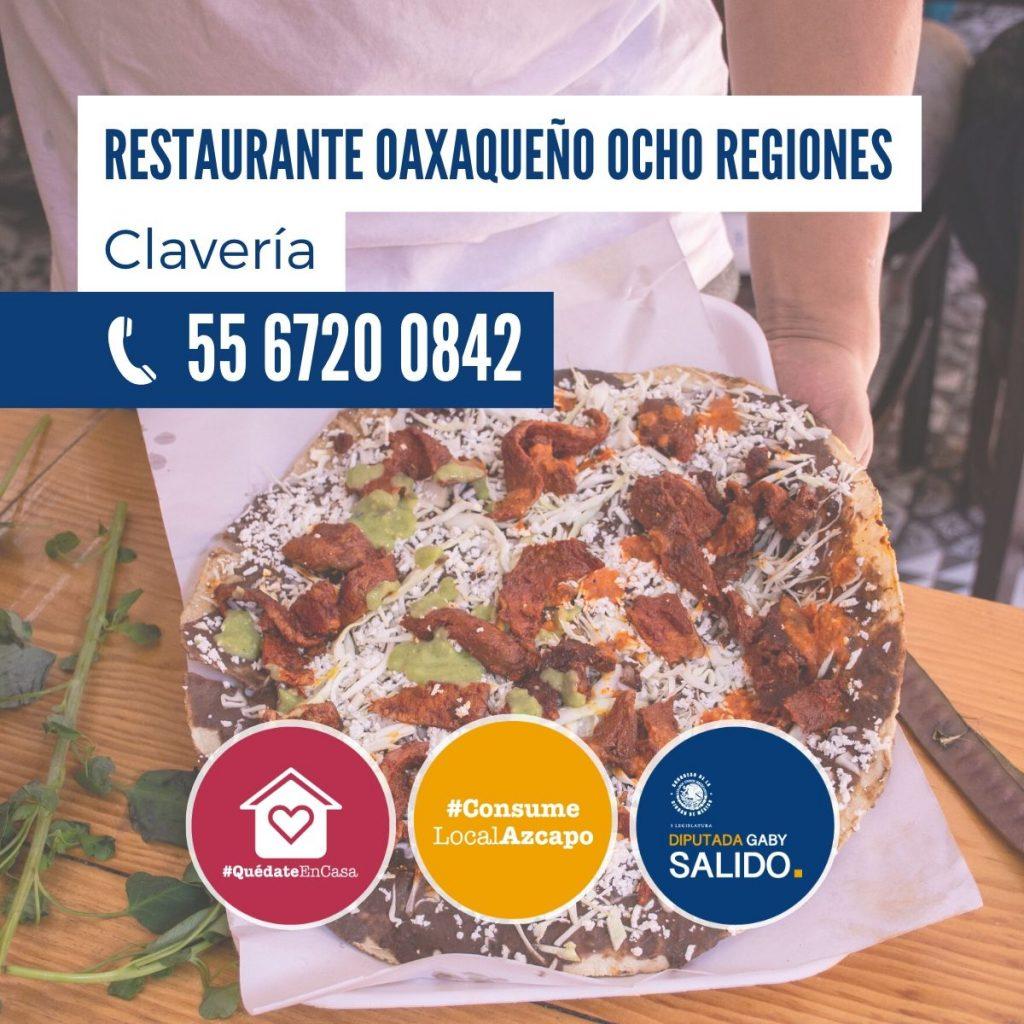 """Restaurante Oaxaqueño """"Ocho Regiones"""""""