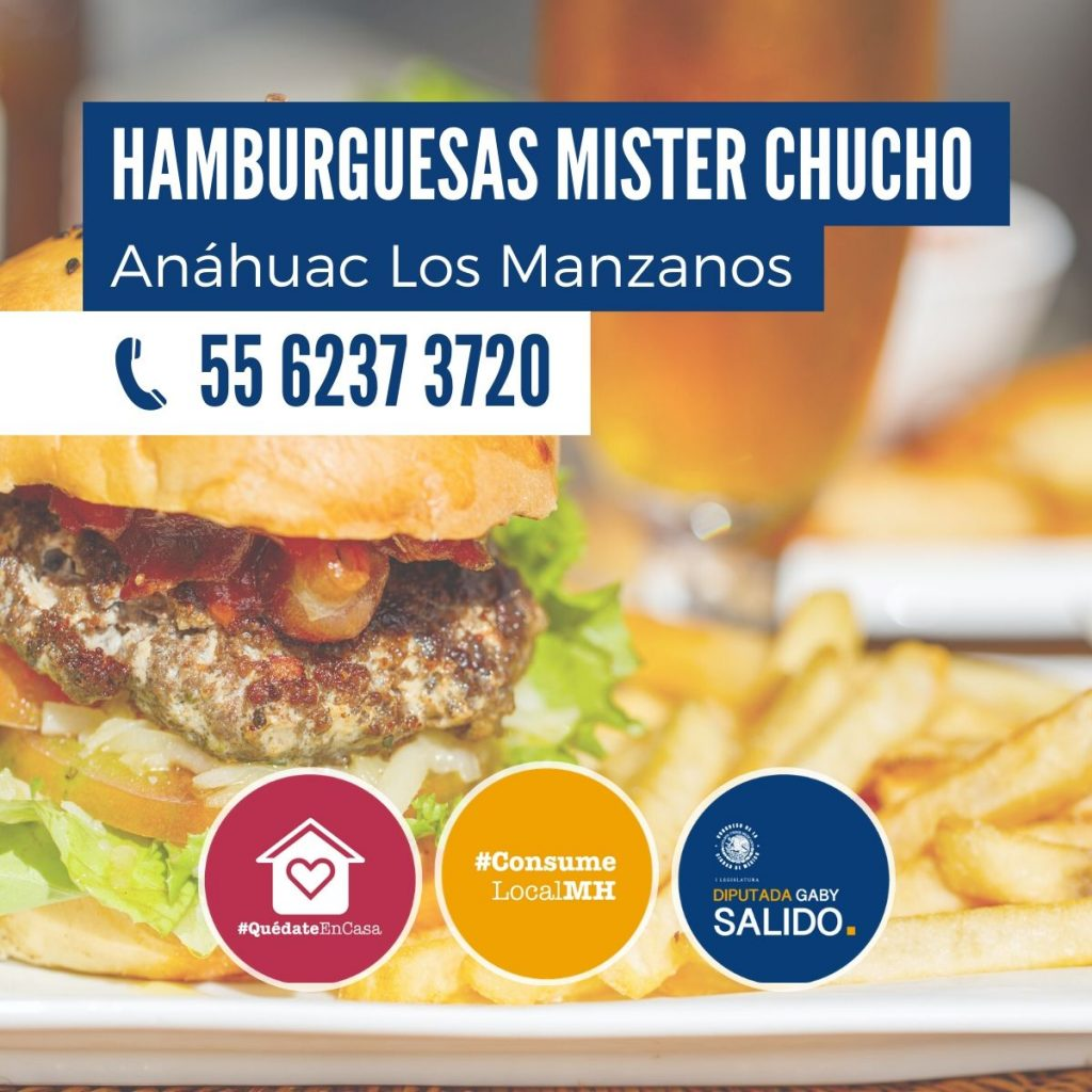 """Hamburguesas """"Mister Chucho"""""""