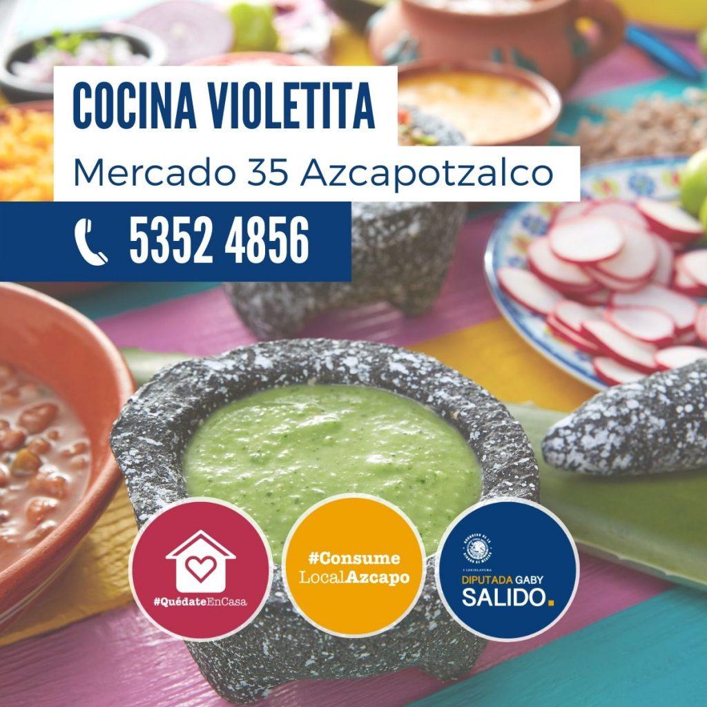 Cocina Violetita