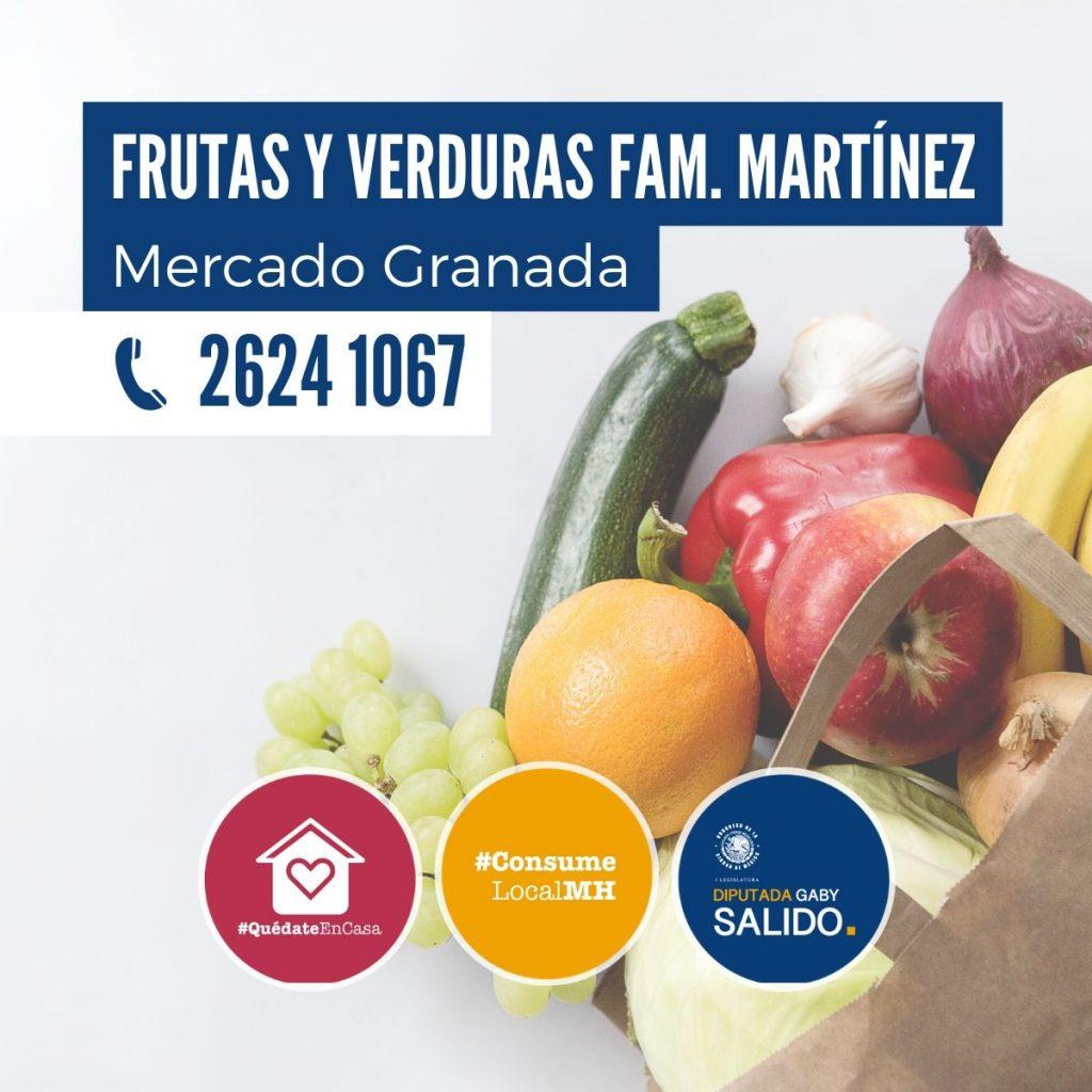 Frutas y verduras Fam. Martínez