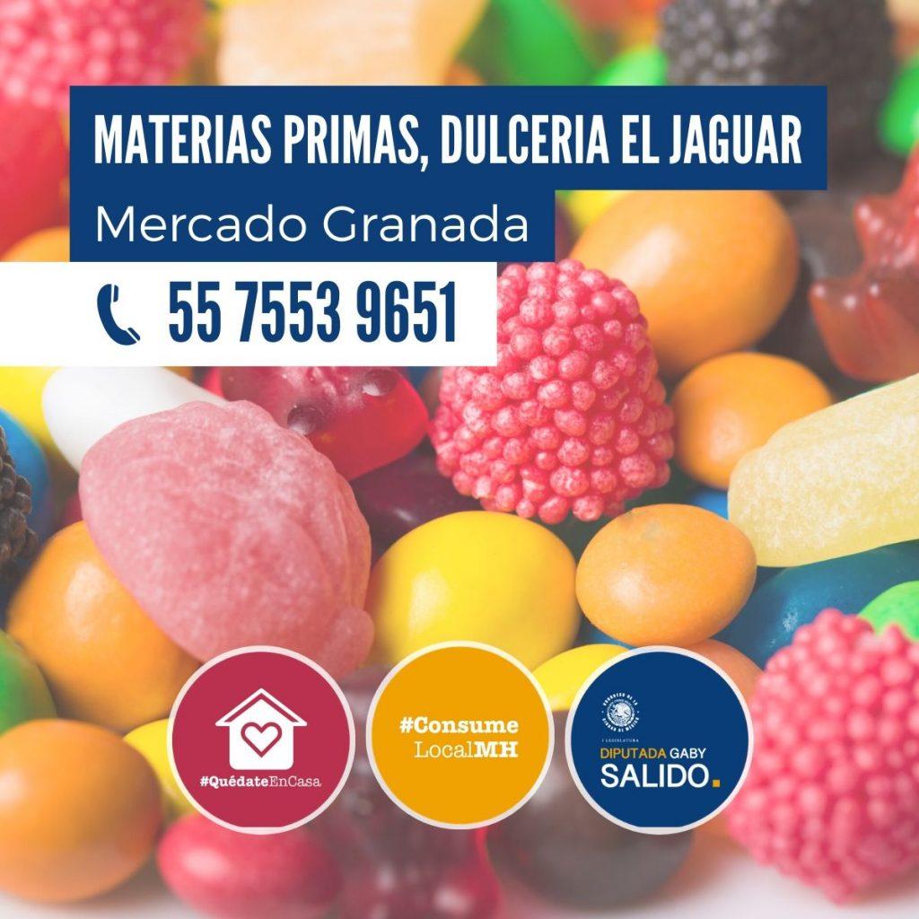 """Materias primas y dulcería """"El Jaguar"""""""