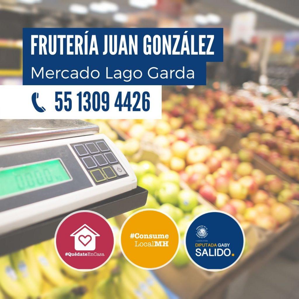 """Frutería """"Juan González"""""""