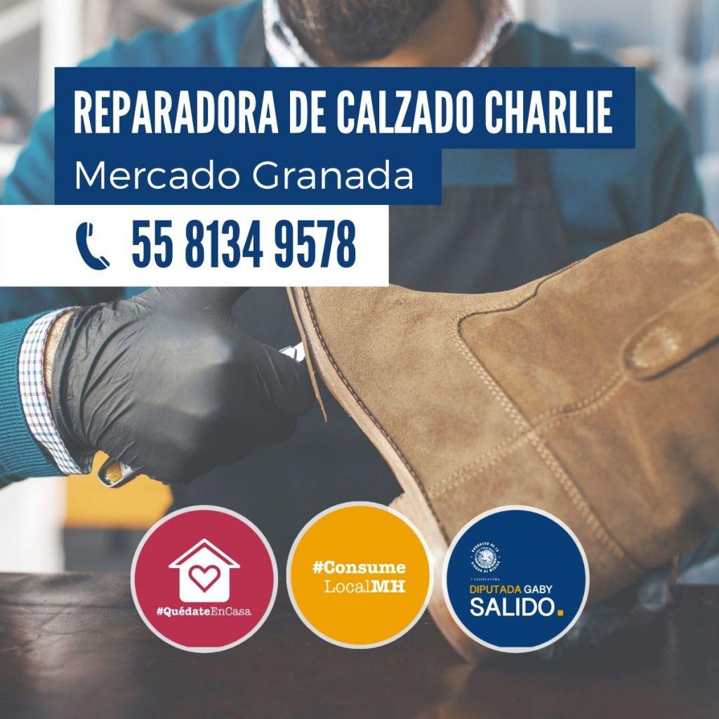 Reparadora de calzado Charlie