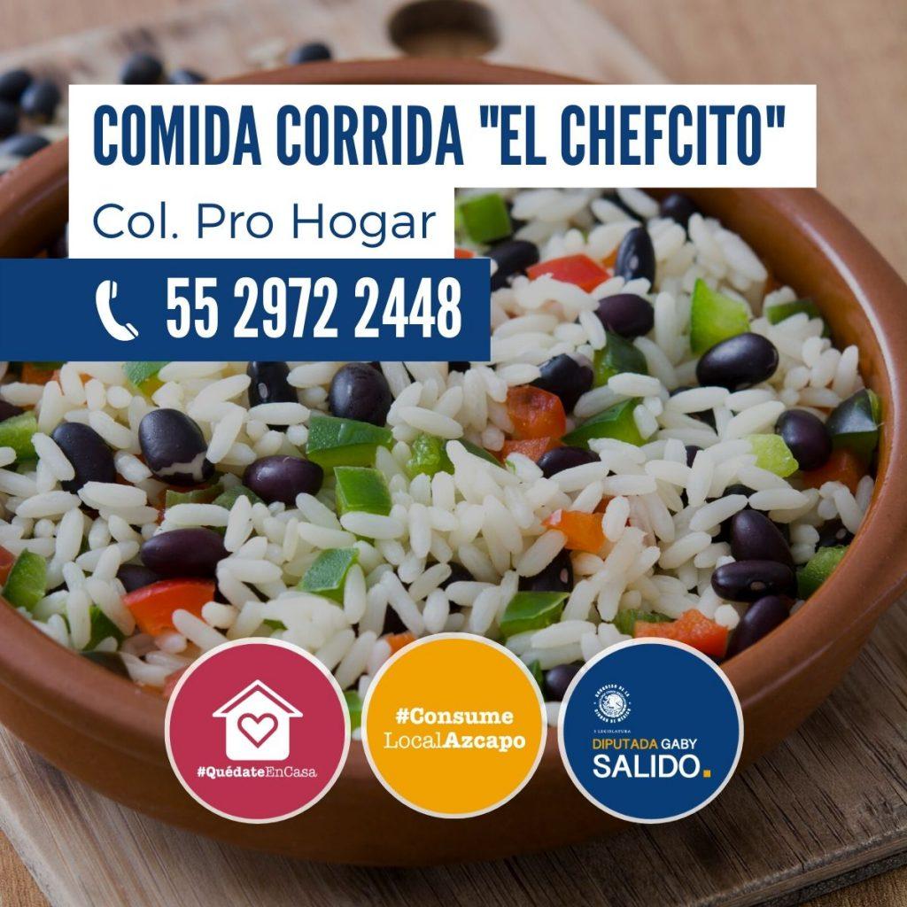 "Comida corrida ""El Chefcito"""
