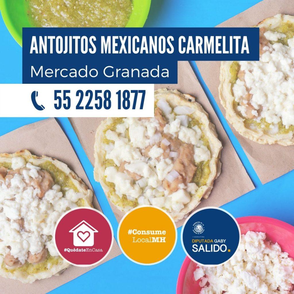 Anotjitos mexicanos Carmelita