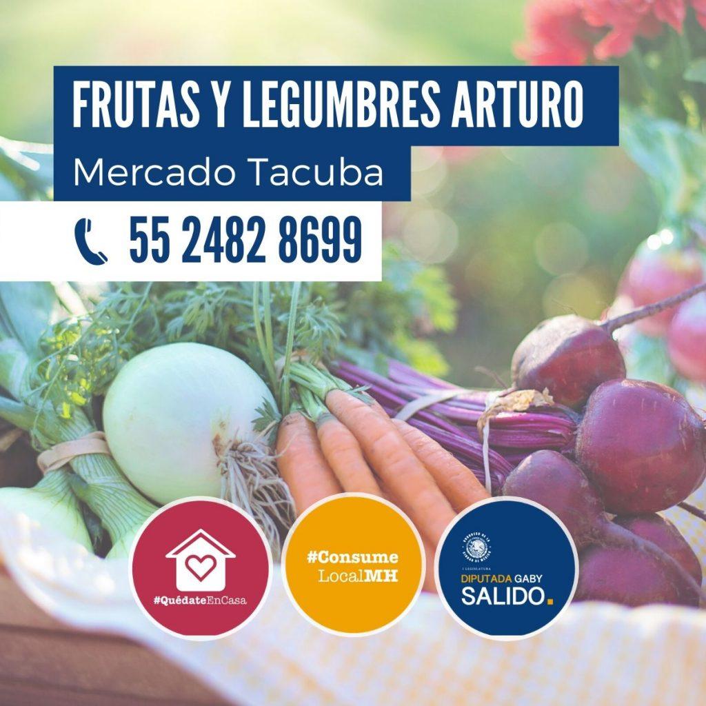"""Frutas y legumbres """"Arturo"""""""
