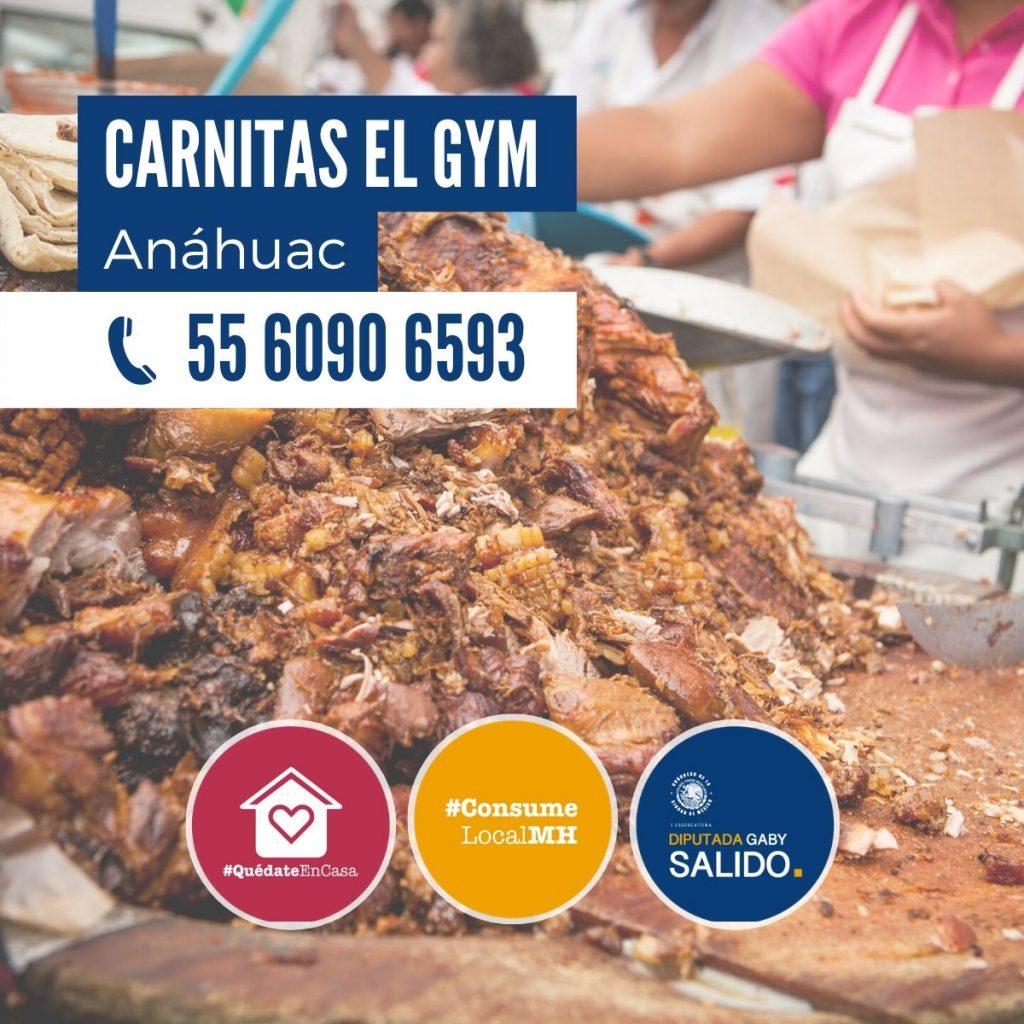 """Carnitas """"El Gym"""""""