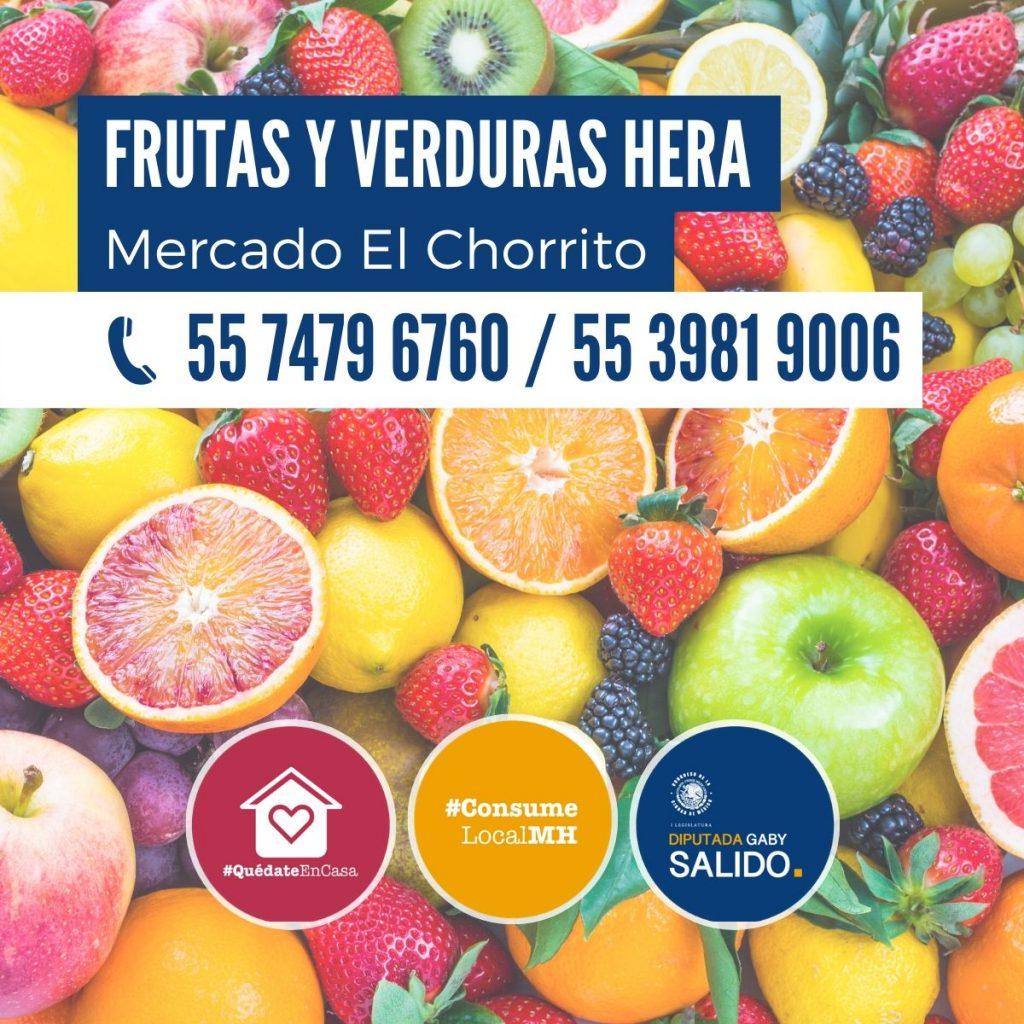 """Frutas y verduras """"Hera"""""""