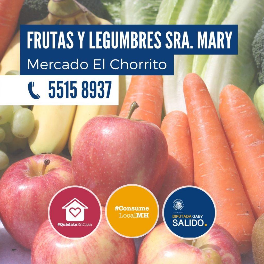 """Frutas y legumbres """"Sra. Mary"""""""