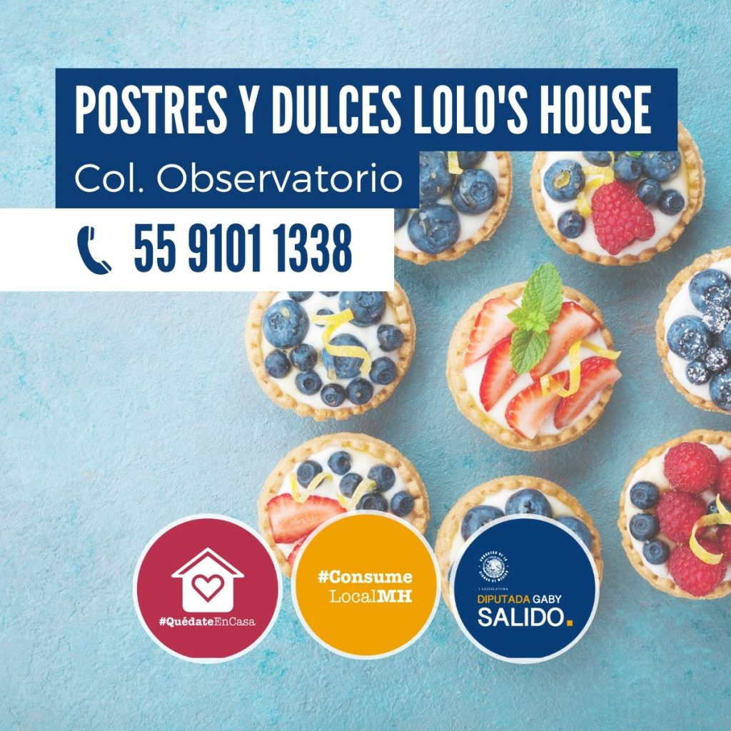 Postres y dulces Lolo's House