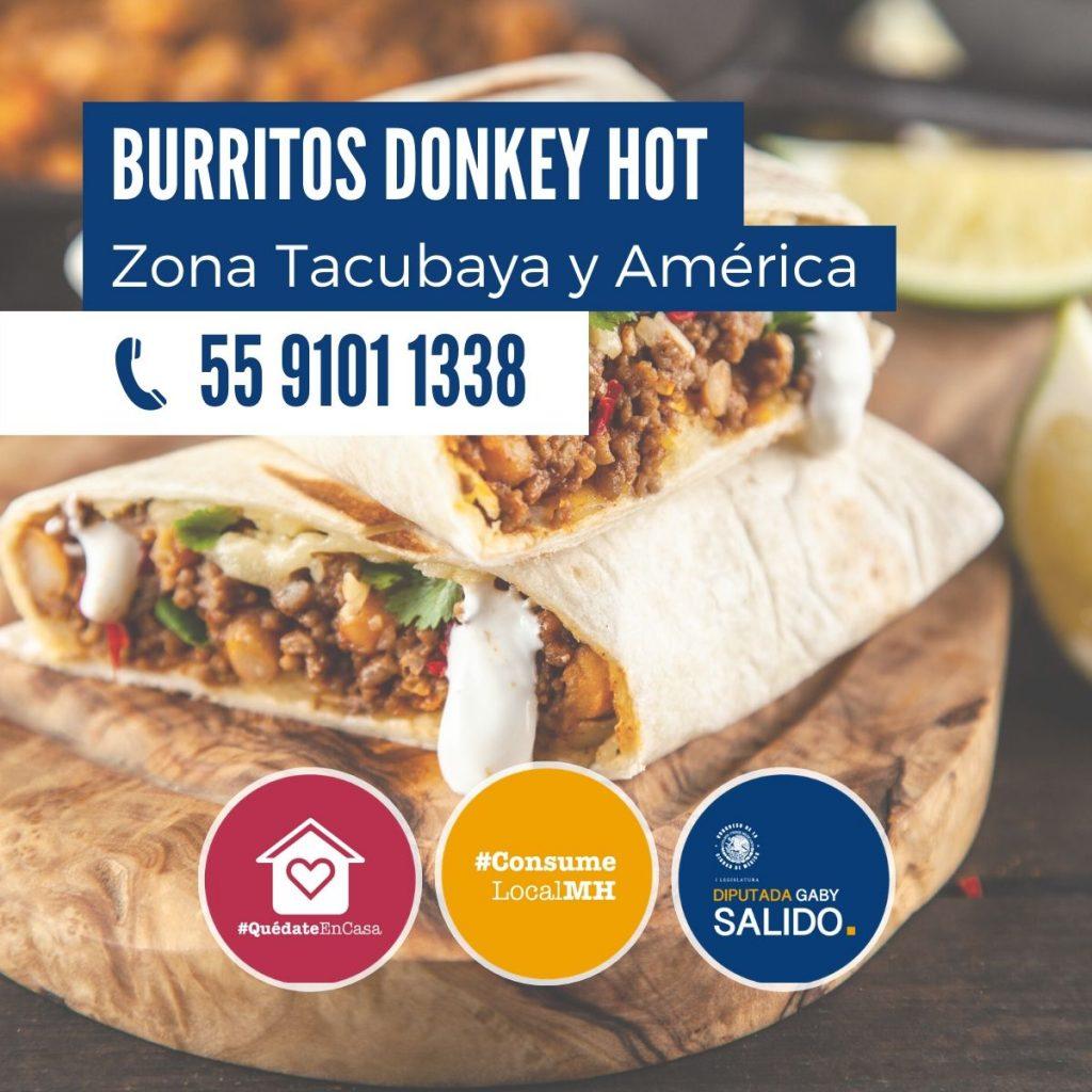 Burritos Donkey Hot
