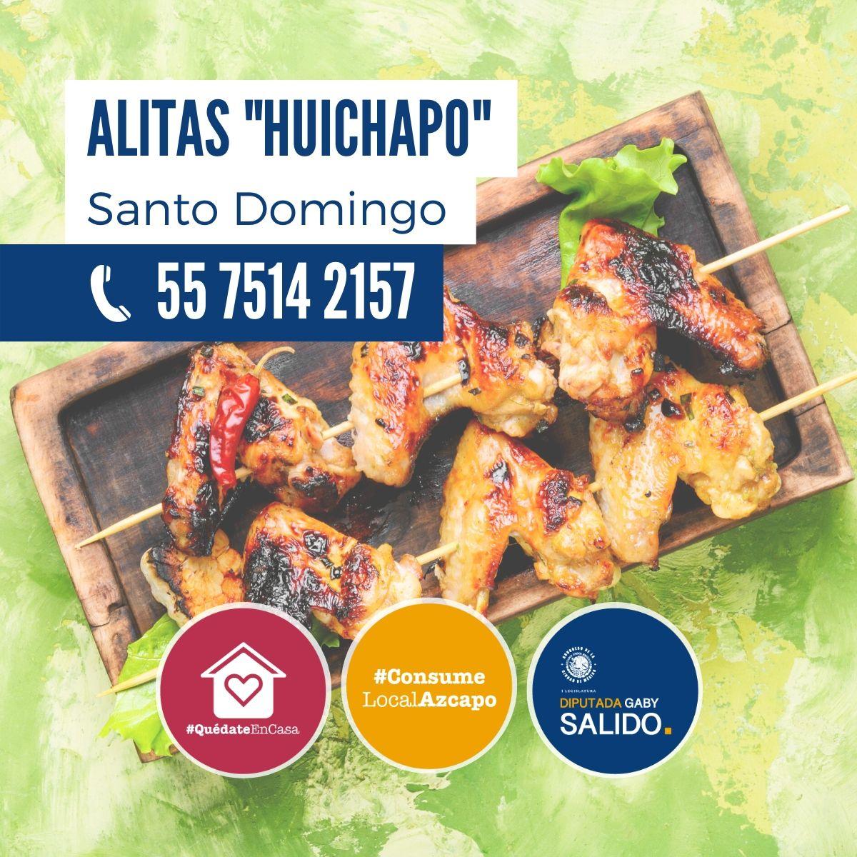 """Alitas """"Huchapo"""""""