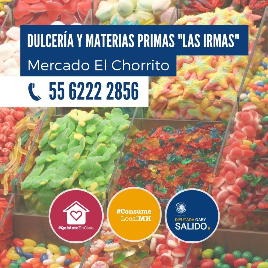 """Dulcería y materias primas """"Las Irmas"""""""