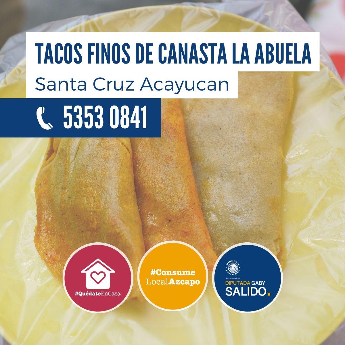 """Tacos finos de canasta """"La Abuela"""""""
