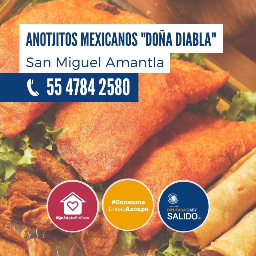 """Anotjitos mexicanos """"Doña Diabla"""""""