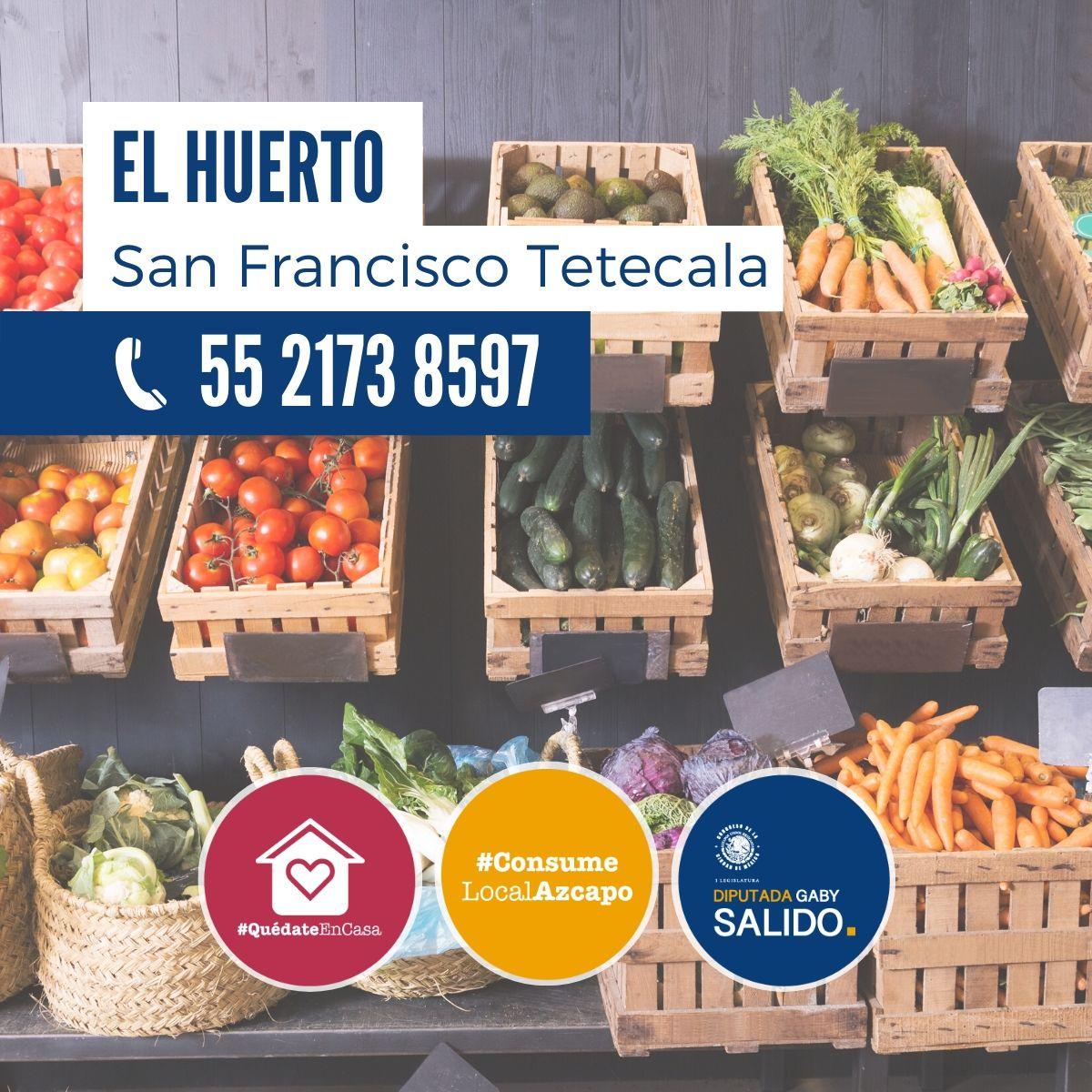 """Frutas y verduras """"El Huerto"""""""