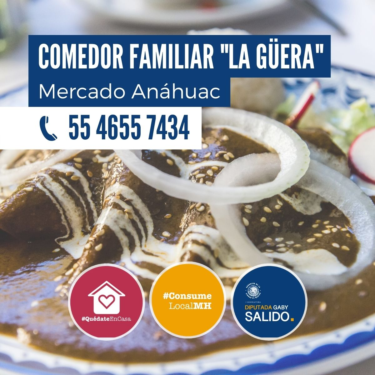 "Comedor familiar ""La Güera"""